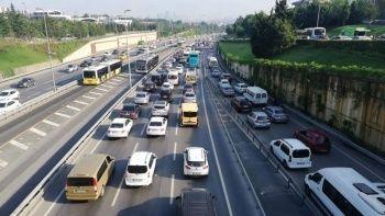 Son kısıtlamanın ardından trafik yoğunluğu arttı