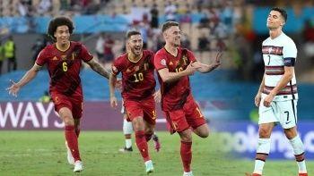 Son şampiyon Portekiz'i eleyen Belçika çeyrek finalde