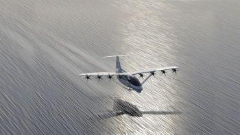 Uçan taksilerden sonra uçan feribotlar