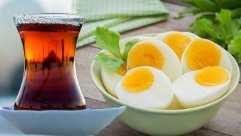 Uzmanından kahvaltıda yumurta yiyenlere 'çay' uyarısı