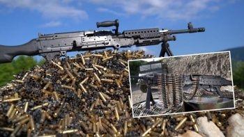 Yerli ve milli silahlar ilk kez görücüye çıktı