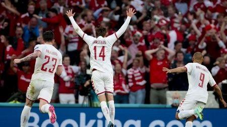 Danimarka EURO 2020'de tur atladı