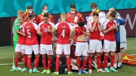Christian Eriksen bayıldı! 15 dakika kalp masajı...