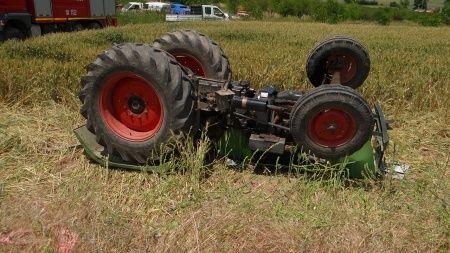 Yine traktör kazası: 1 ölü