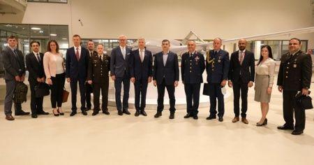 Letonya'dan Bayraktar SİHA ziyareti