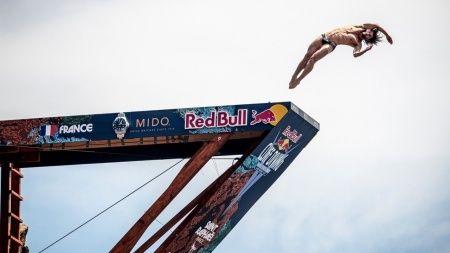 Red Bull Cliff Diving Fransa'da başladı
