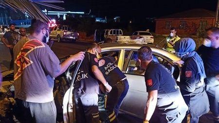 Trafik kazasında polis memuru hayatını kaybetti