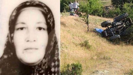 Traktör kazası! 2 çocuk annesi kadından acı haber