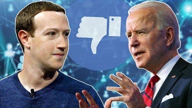 ABD Başkanı Joe Biden: Covid'e dair yanlış bilgilerle Facebook da öldürüyor