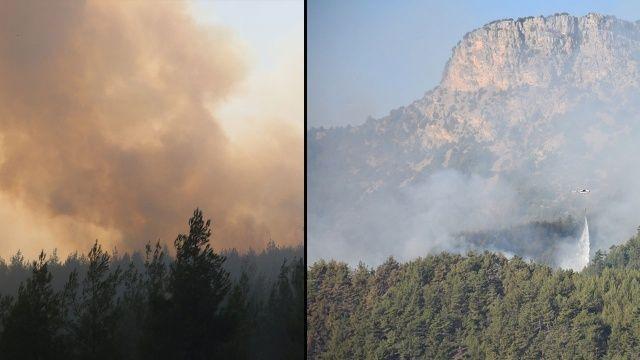 Adana Aladağ ve Kozan'daki yangınlarda son durum