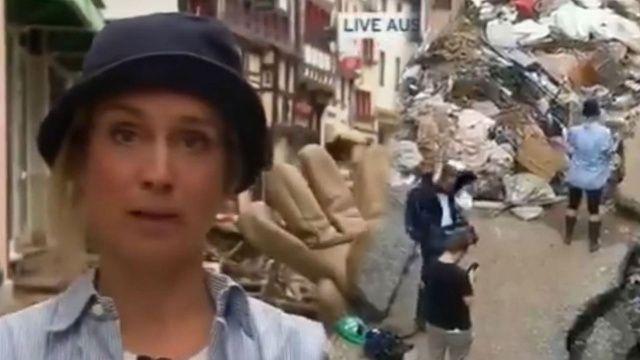 Alman muhabirden yalan skandalı: Eline yüzüne bulaştı
