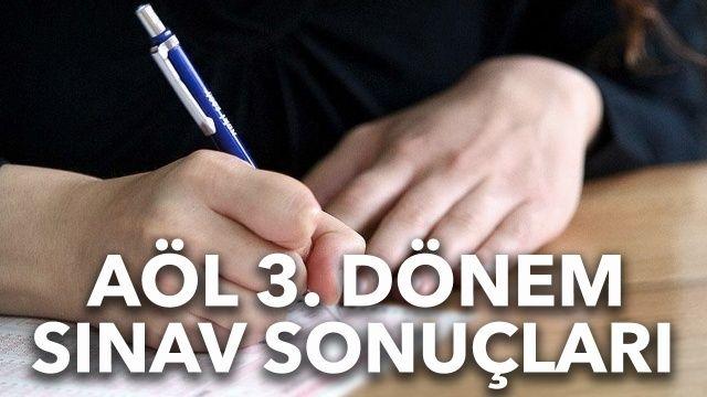AÖL 3. dönem sınav sonuçları sorgulama: AÖL 3. dönem sınav sonuçları açıklandı mı?
