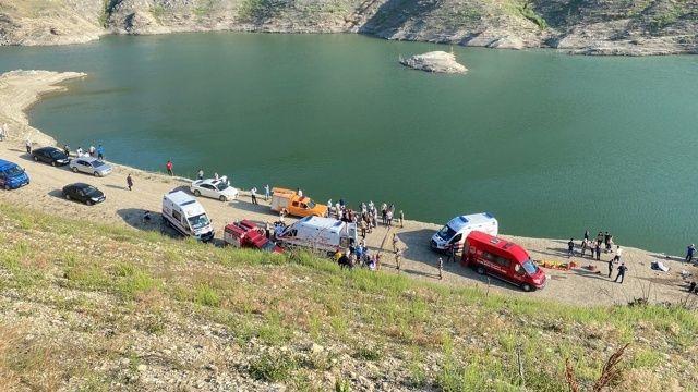 Amasya'da kahreden facia: Çocuklarını kurtarmak İçin baraja girdiler: 5 boğulma