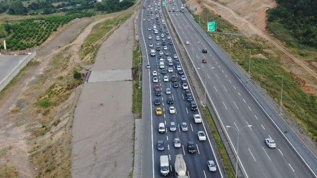 Bayram öncesi trafik yoğunluğu