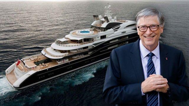 Bill Gates Bodrum'a geldi yemek için ödediği para dudak uçuklattı