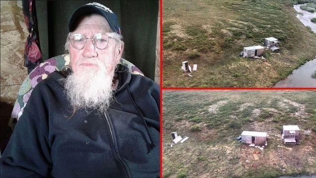 Boz ayının saldırısına uğradı 4 gün kulübeden çıkamadı