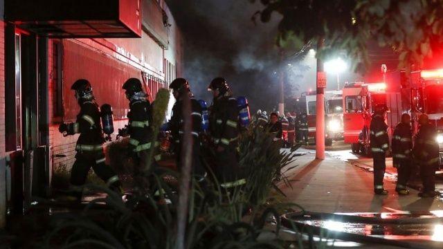 Brezilya'da film enstitüsünün deposu alev alev yandı