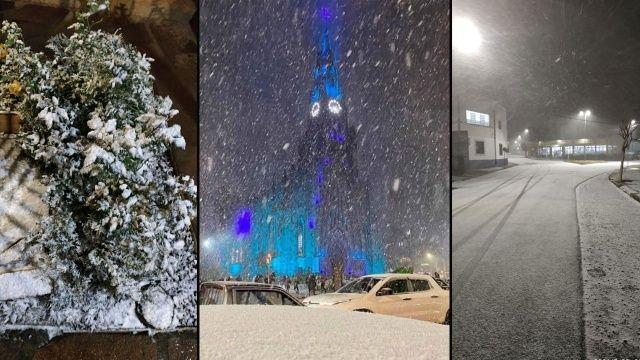 Brezilya'da sıcaklıklar -8'e düştü gece boyu kar yağdı
