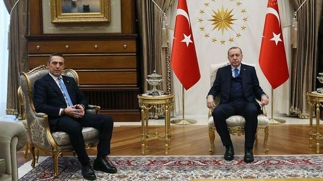 Erdoğan'dan Ali Koç'un mektubuna cevap