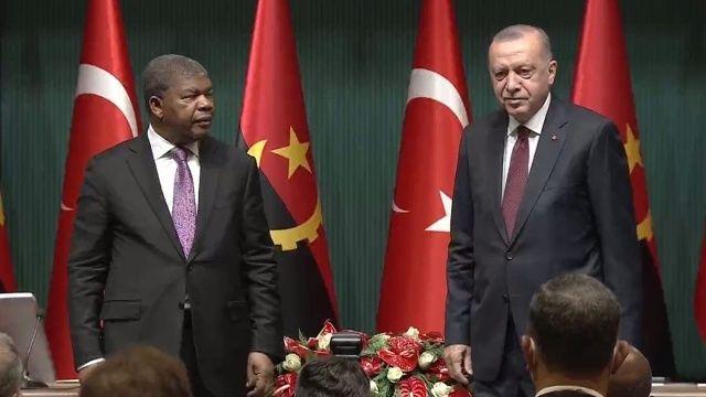 Cumhurbaşkanı Erdoğan: İş insanlarıyla Angola'ya gideceğiz