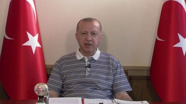 Cumhurbaşkanı Erdoğan KKTC'nin statüsü için net konuştu
