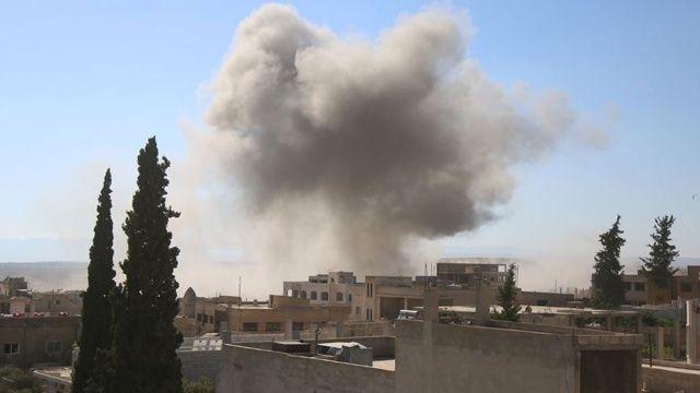 Esad yine sivillere saldırdı: 7 sivil öldü, 3 sivil yaralandı