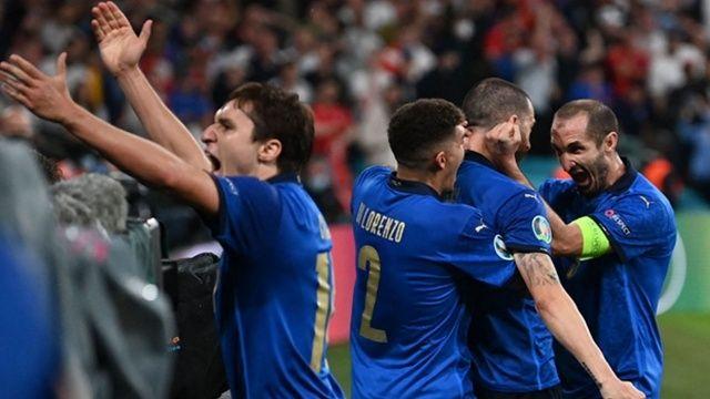 EURO 2020'nin şampiyonu İtalya!