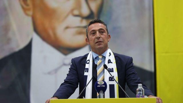 Fenerbahçe Başkanı Ali Koç, şampiyonluk konusunda iddialı