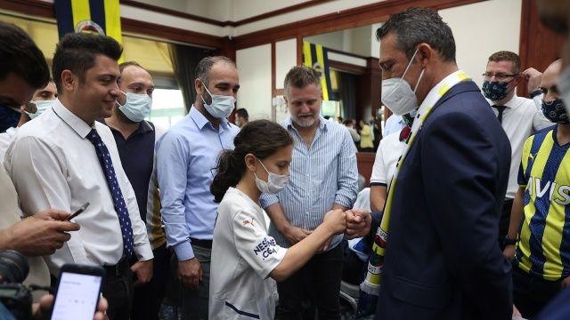 Fenerbahçe'de geleneksel bayramlaşma töreni yapıldı