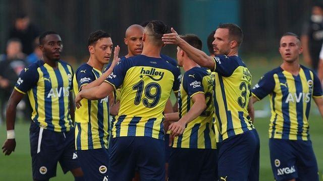 Fenerbahçe hazırlık maçında Kasımpaşa'yı mağlup etti