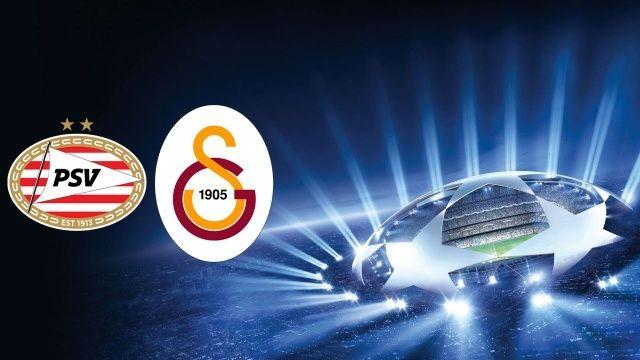 Galatasaray, Şampiyonlar Ligi'nde PSV Eindhoven'e konuk oluyor