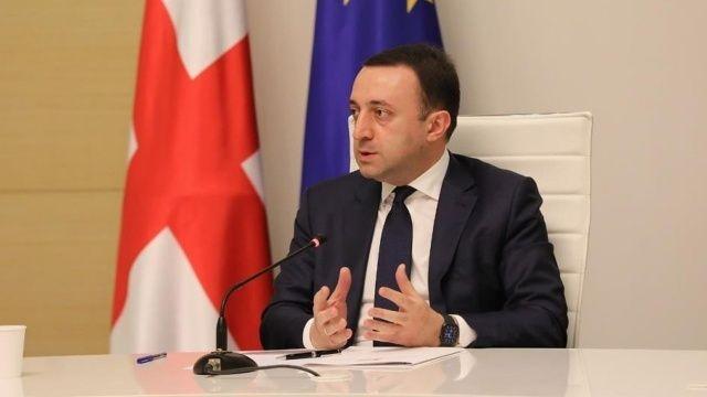 Gürcistan Başbakanı Garibaşvili: Gürcistan, Türkiye'ye her türlü yardıma hazır