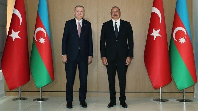 İlham Aliyev'den Cumhurbaşkanı Erdoğan'a taziye mesajı