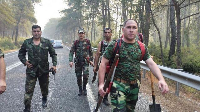 Azerbaycan Marmaris'te: Kardeş ülkeden yardım eli