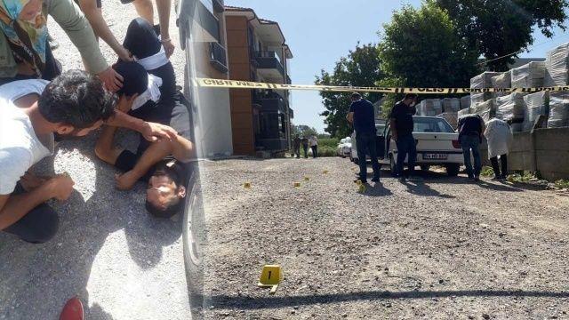 Kayınbiraderiyle tartışan polis kurşun yağdırdı