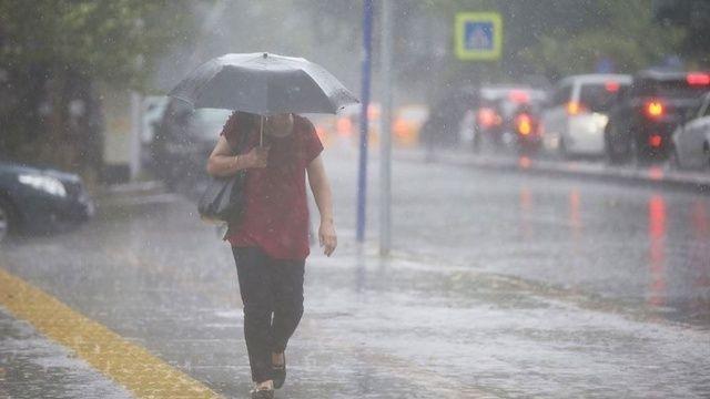 Meteoroloji uyardı: Kuvvetli sağanak bekleniyor