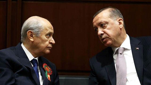 MHP Genel Başkanı Bahçeli'den Cumhurbaşkanı Erdoğan'a yıl dönümü fidanı