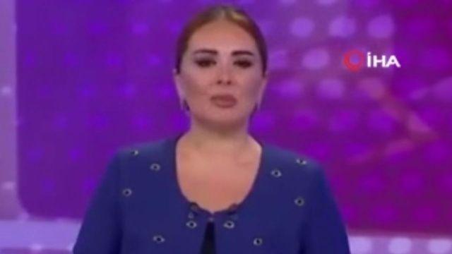 Orman yangınlarıyla mücadele eden Türkiye'ye Azerbaycanlı spikerden destek