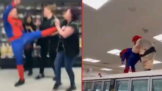 Örümcek adam kostümlü saldırı ilk değilmiş! 'TikTok mafyaları' dehşeti