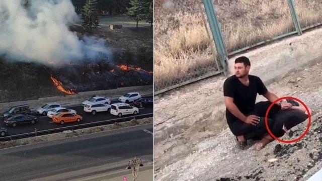 Polatlı'da kışlaya sabotaj girişiminde bulunan PKK'lı yakalandı