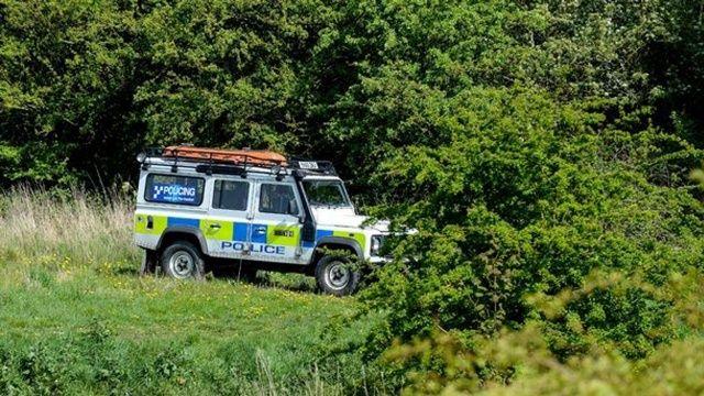 Polis kopan ayağın sahibini arıyor