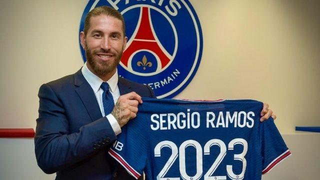 PSG Sergio Ramos'u kadrosuna kattı | Son dakika transfer haberi