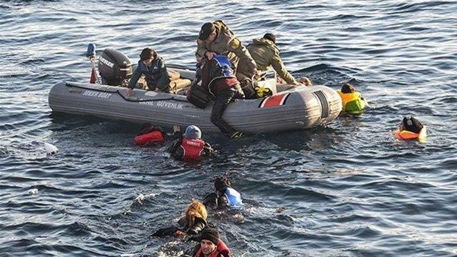 Son dakika! Akdeniz'de göçmenleri taşıyan bot battı: En az 57 ölü