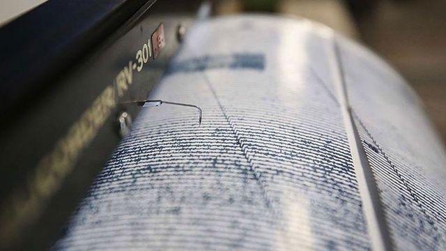 Son dakika: Ege Denizi'nde 4 büyüklüğünde deprem   Son depremler