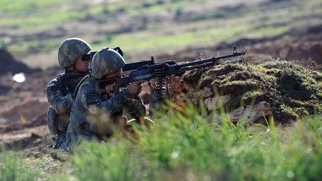Son dakika: Fırat Kalkanı'nda 7 terörist öldürüldü