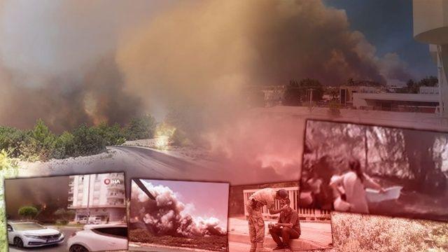 Son dakika! Antalya Manavgat'taki yangında 3 can kaybı