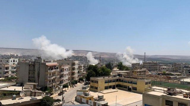 Terör örgütü PKK Afrin'de sivilleri hedef aldı! Yaralılar var