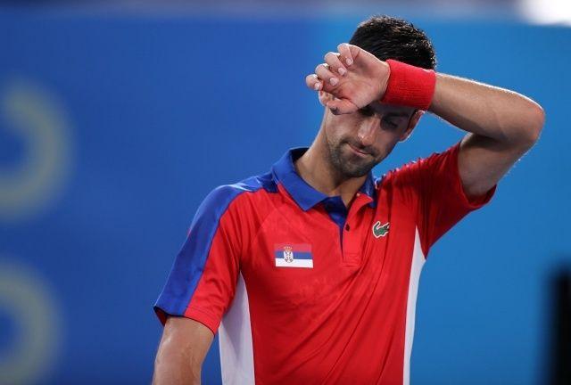 """Tokyo 2020'de Novak Djokovic'in """"altın-slam"""" hayali suya düştü"""