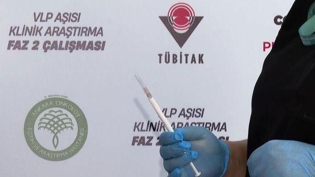 TÜBİTAK Başkanı Mandal: VLP aşısı yıl sonuna hazır, Delta'ya karşı etkili