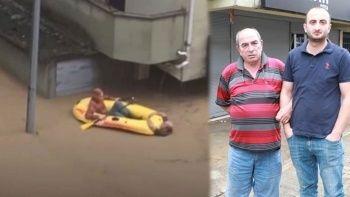 'Boğuluyorum' feryadına koştular: Artvin'deki selde kurtulan adam o anları anlattı